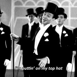 Watch and share This Movie Is Gold GIFs and Fred Astaire GIFs on Gfycat