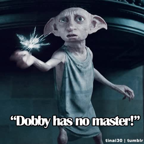 Watch and share Dobby GIFs on Gfycat