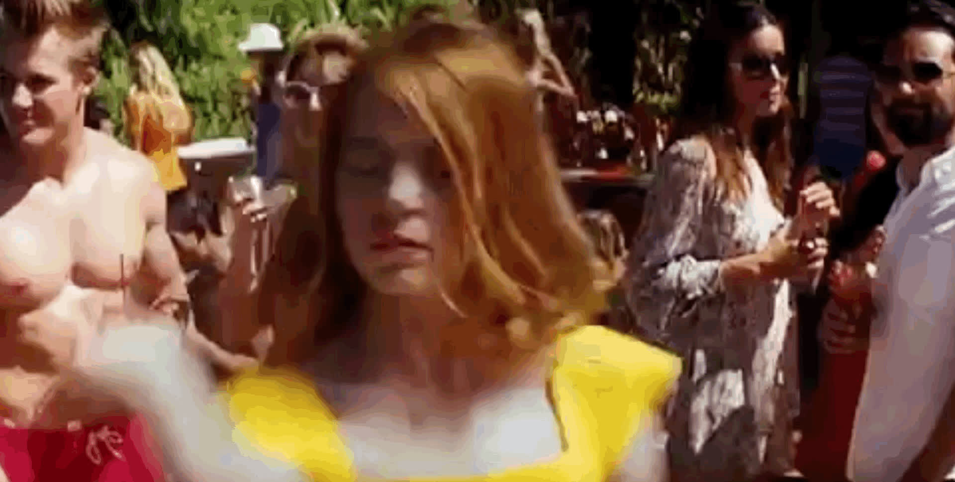 Emma Stone dancing GIFs