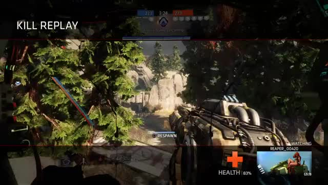 Watch and share Kraber Vs Titans GIFs by cbusalex on Gfycat