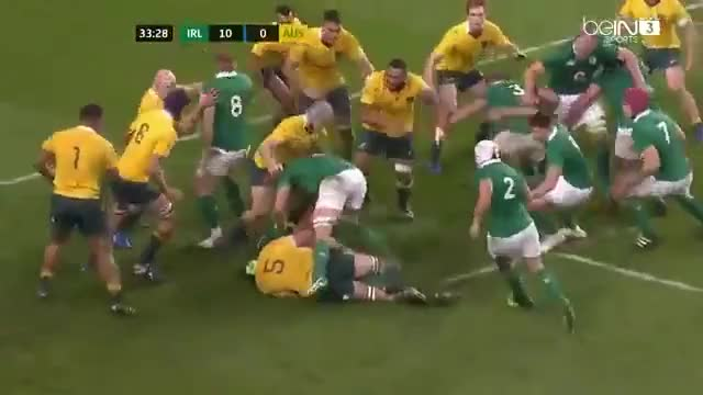 Watch and share Australia Vs Ireland Highlights 27/11/2016 HD GIFs by konichigram on Gfycat