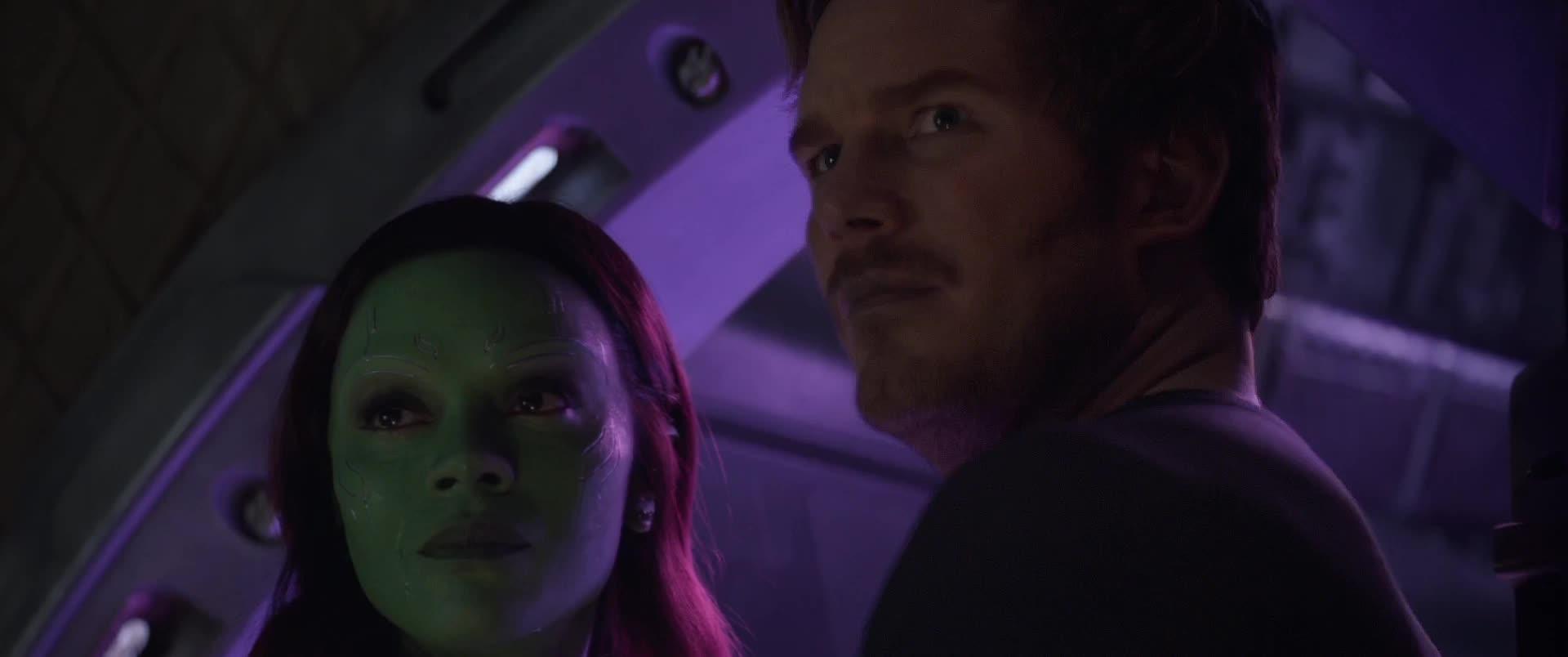 celebs, hmm, no, zoe saldana, Avengers Infinity War - Hmm no - Final GIFs