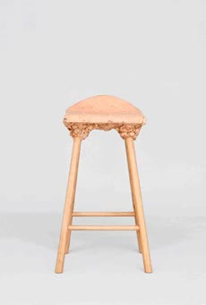 Watch and share Marjan Van Aubel And James Shaw. Well Proven Stool. 2014 GIFs on Gfycat