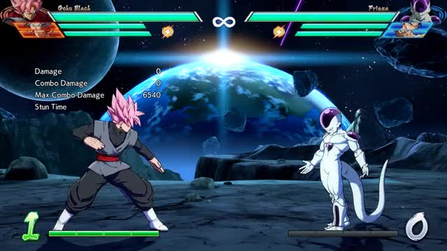 Watch and share Goku Black - Midscreen - 2H Into 1-Super (L+M) - 4315 Damage GIFs by robro on Gfycat