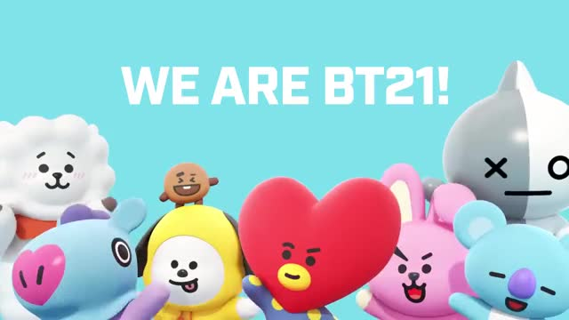 Watch and share [BT21] WE ARE BT21 GIFs on Gfycat