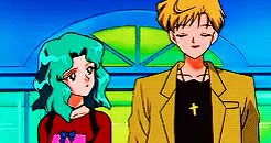 Watch and share Sailor Neptune GIFs and Michiru Kaioh GIFs on Gfycat
