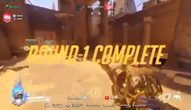 64-6 ROADHOG on Anubis (ft. the fastest Lucio I've ever seen) Overwatch 4616 SR