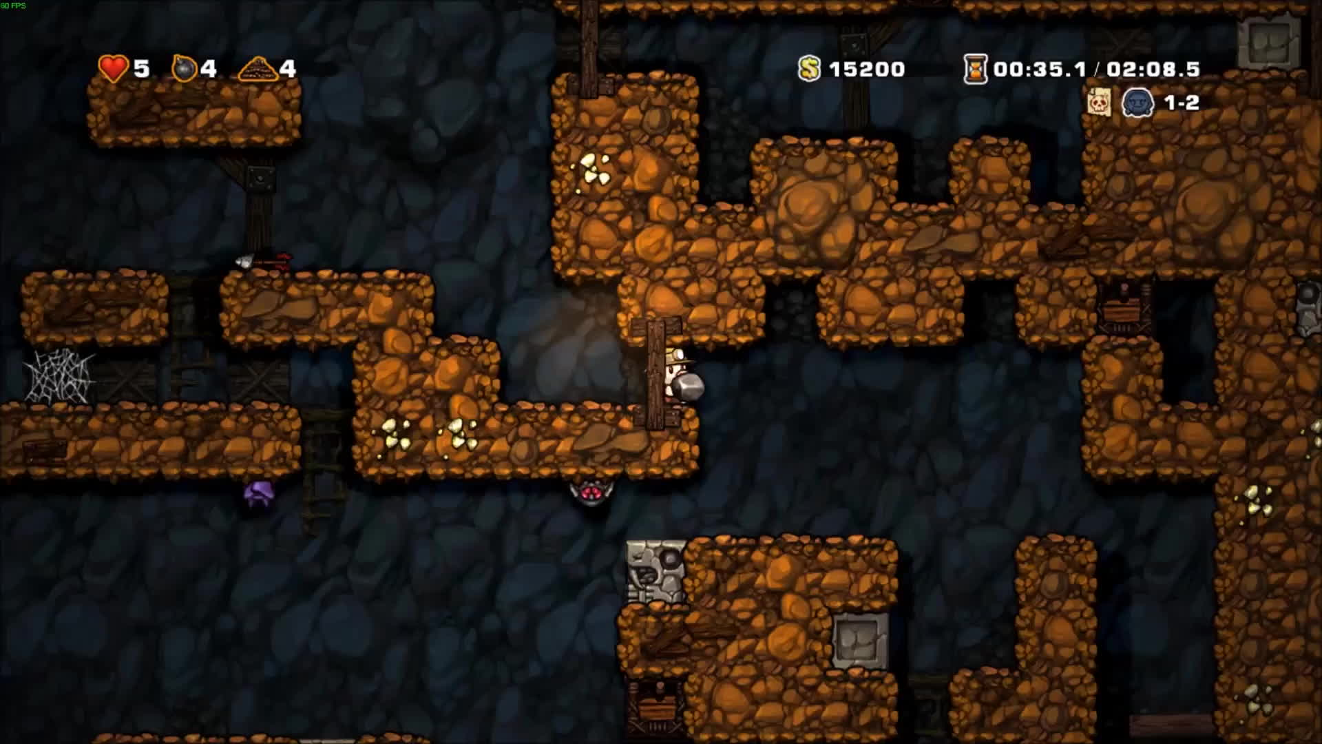 fail, games, spelunky, Spelunky - What happened? GIFs