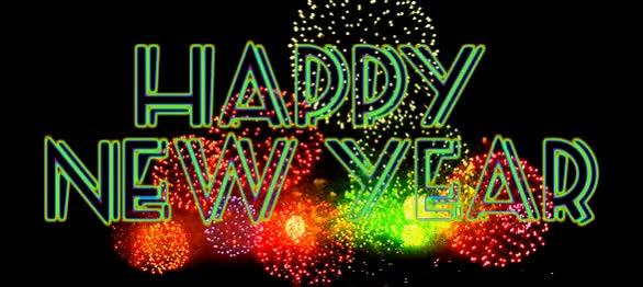 Watch and share Happy New Year GIFs by Aadhya Arya on Gfycat