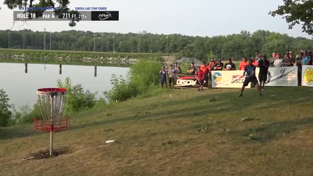 Watch 2018 Ledgestone Insurance Open Rd. 4 Nate Sexton hole 18 lay-up GIF by Benn Wineka UWDG (@bennwineka) on Gfycat. Discover more dgpt, dgwt, disc, disc golf, mcbeast, nate sexton, paul mcbeth, pdga, simon lizotte, tournament GIFs on Gfycat