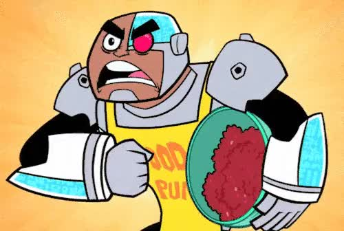Watch and share Cyborg Meat Beat GIFs by sumnayin on Gfycat