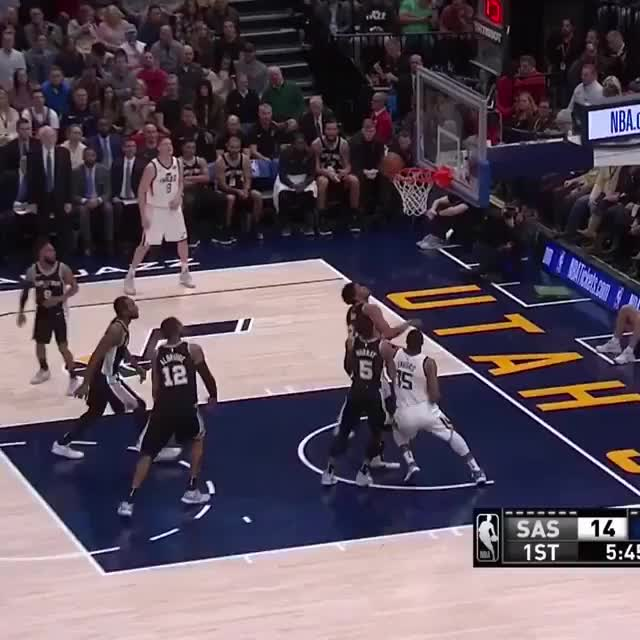 Watch and share Manu And Tony Parker Are In Sync GIFs on Gfycat