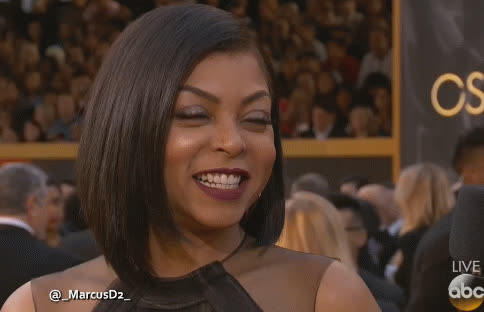 red carpet, Taraji P. Henson reaction red carpet GIFs
