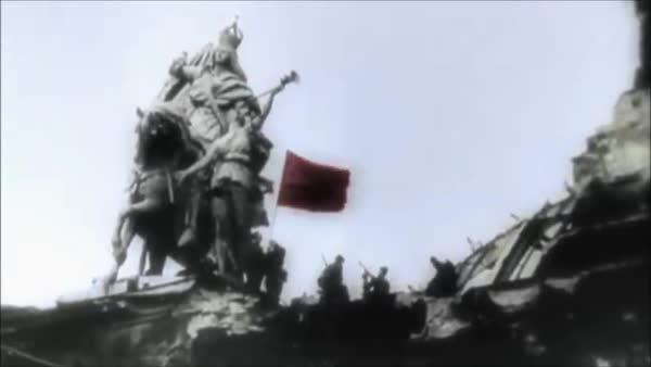 WW2 flags GIFs