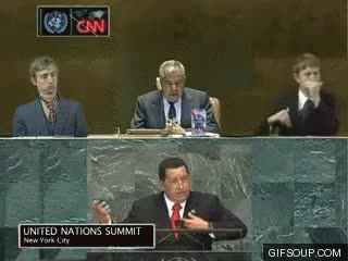 Watch and share Hugo Chavez Air Guitar GIFs on Gfycat