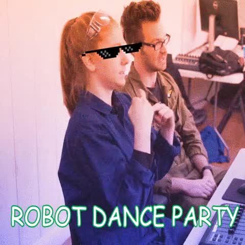 Watch Simone Giertz Robot Dance Party GIF by Jan Jerome Ochoa (@blvckcoffee) on Gfycat. Discover more Robot, SimoneGiertz, danceparty GIFs on Gfycat
