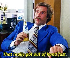 Watch anchorman escalated GIF on Gfycat. Discover more will ferrell GIFs on Gfycat