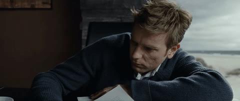 "ewan mcgregor, hungover, wake up, Ewan McGregor being sleepy in "" The Ghost Writer"" (2010) GIFs"