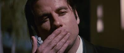 John Travolta, blowkiss, kiss, kisses, kisses GIFs