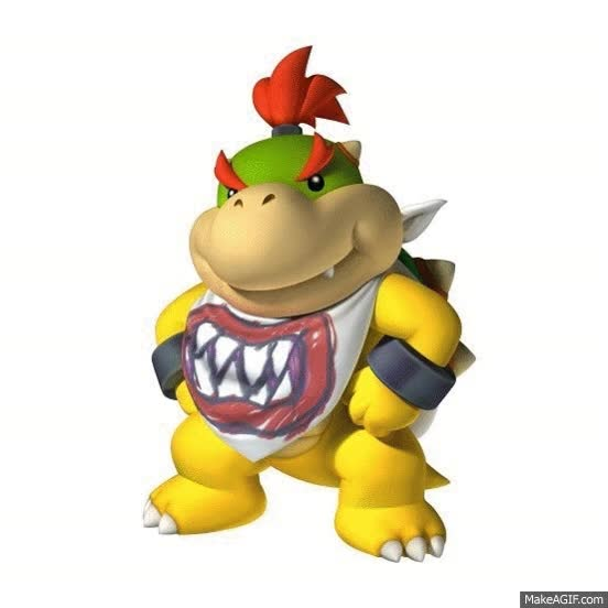 Watch and share Bowser Jr Getting In\out Of Clown Car GIFs on Gfycat
