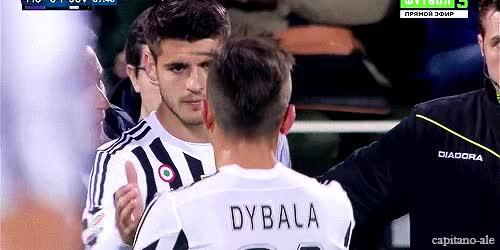 Watch and share Paulo Dybala Al Real Madrid GIFs on Gfycat