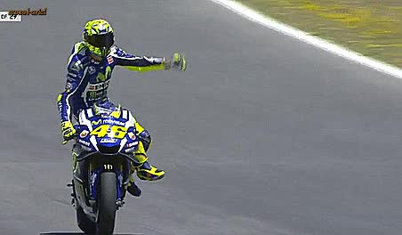Watch and share Valentino Rossi Winner Jerez Motogp GIFs on Gfycat