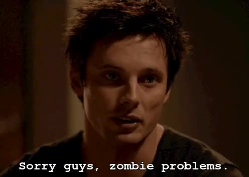 Watch and share Zombie Problems GIFs and Bradley James GIFs on Gfycat