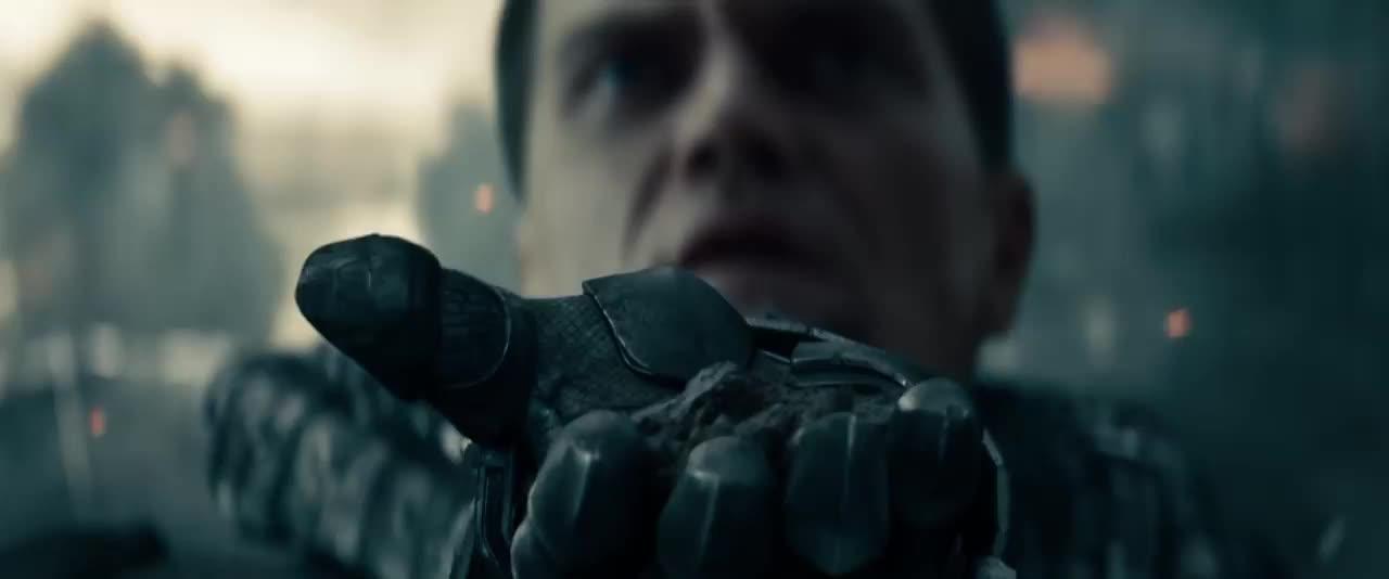 general zod, henry cavill, kal el, man of steel, michael shannon, superman, Kal-El vs General Zod Man of Steel GIFs