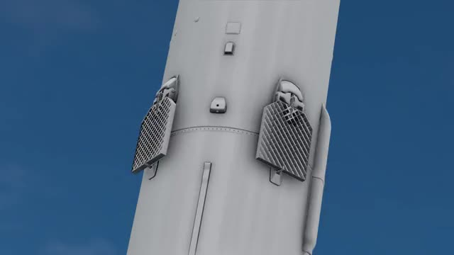 Watch Falcon 9 grid fin animation GIF on Gfycat. Discover more spacex GIFs on Gfycat