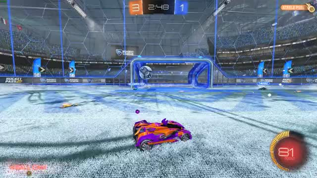 Watch and share Rocket League 2019.02.13  Pass Play GIFs by Splat on Gfycat