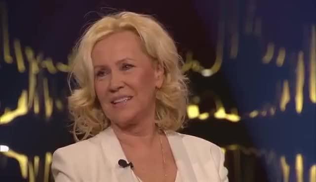 Watch and share Agnetha Fältskog Interview (English Subtitles) | ABBA | Skavlan GIFs on Gfycat