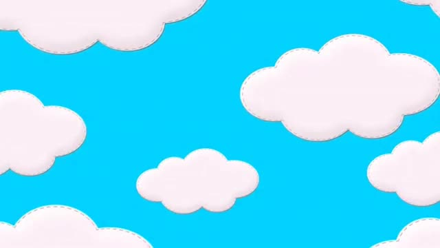 Watch and share Cartoon Clouds In Sky - Free Royalty Animation Footage GIFs on Gfycat