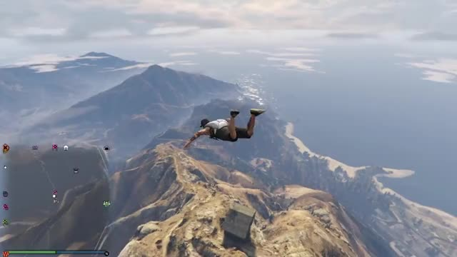 Stunt failed.