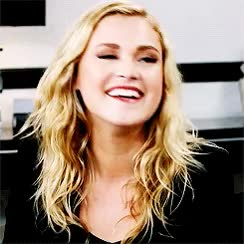 Watch and share Eliza Taylor GIFs and Smiling GIFs on Gfycat