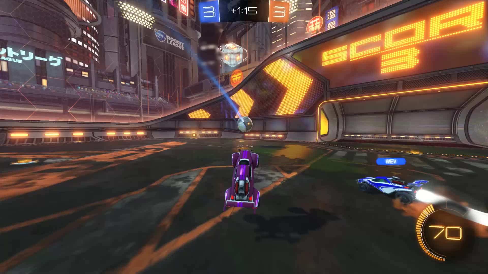 Gif Your Game, GifYourGame, Goal, Rocket League, RocketLeague, T., ⏱️ Goal 7: T. GIFs