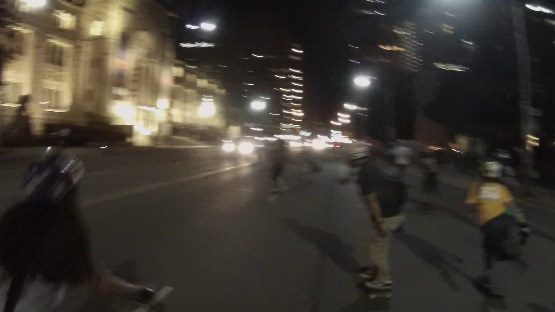 Barnes1111, People & Blogs, community, longboarding, rollyplanking, skateboarding, Longboarding in Toronto at night GIFs