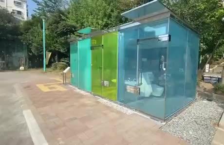Transparent Toilets - gif