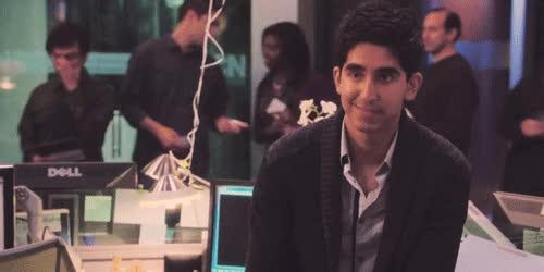 Watch and share Dev Patel GIFs on Gfycat