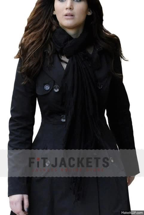 Watch and share TIFFANY SILVER LININGS PLAYBOOK JENNIFER LAWRENCE COAT GIFs on Gfycat