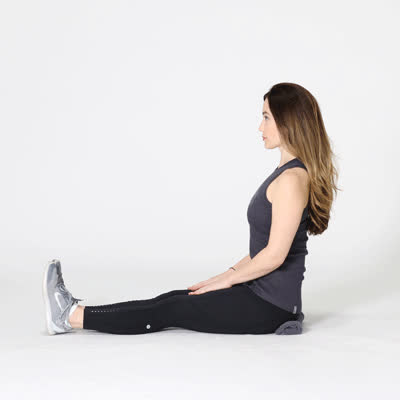 400x400 5 Things To Know About The Piriformis Stretch-Seated Piriformis GIFs