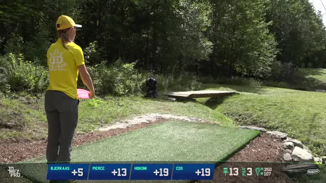 Watch 2018 Pro Worlds | Lead Card | Final RD, B9 | Paige Pierce hole 13 GIF by Benn Wineka UWDG (@bennwineka) on Gfycat. Discover more Jomez Productions, Sports GIFs on Gfycat