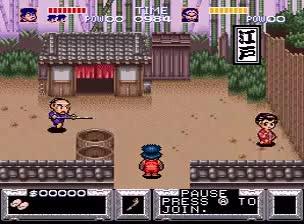 Watch and share SNES The Legend Of The Mystical Ninja (JP Ganbare Goemon: Yukihime Kyuushutsu Emaki) GIFs on Gfycat