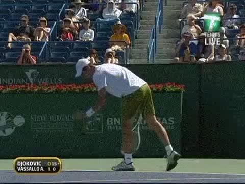 Watch and share Unexpected GIFs and Tennis GIFs on Gfycat