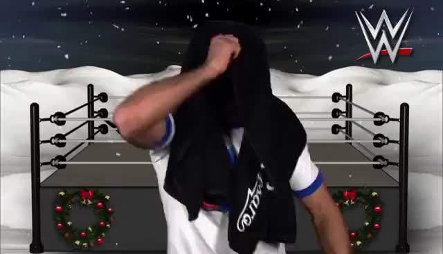 Watch and share Happy Holidays GIFs and Mark Henry GIFs on Gfycat