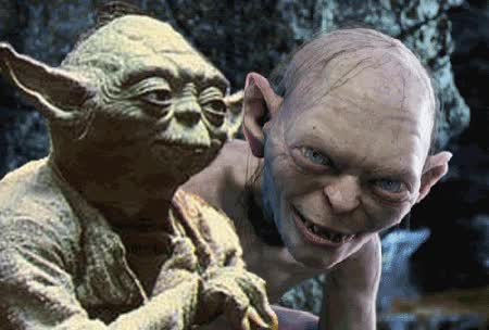 Watch and share Gollum GIFs on Gfycat