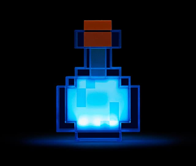 Watch and share Minecraft Color Changing Potion Bottle Main Image GIFs on Gfycat