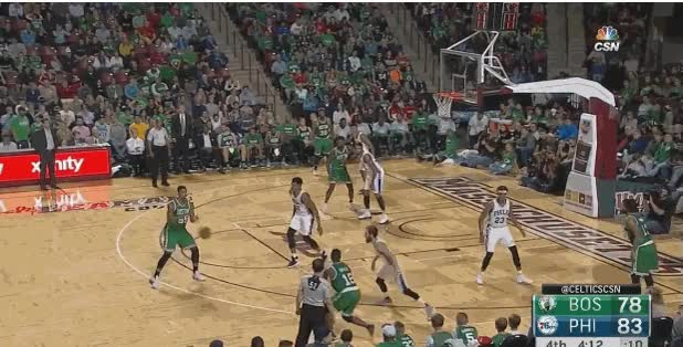 Watch Boston Celtics v 76ers preseason Brown dunk GIF on Gfycat. Discover more related GIFs on Gfycat