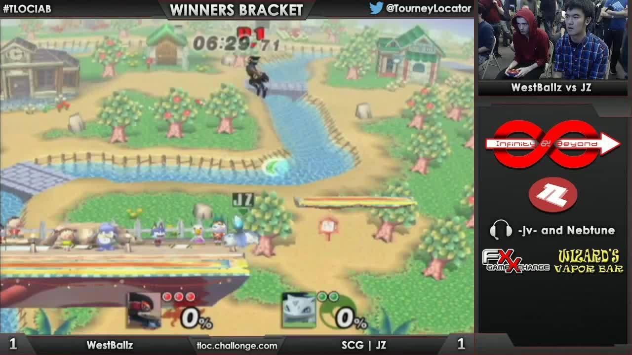 IaB! 48 - Westballz (Falco) vs SCG | JZ (Ivysaur) - Winners Bracket (reddit) GIFs