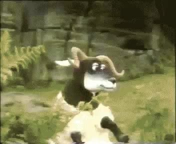 Watch this goat GIF on Gfycat. Discover more animal, animals, goat, goats, nature GIFs on Gfycat