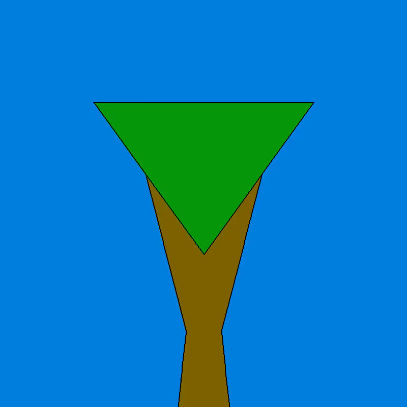 proceduralgeneration, Tree 1 GIFs